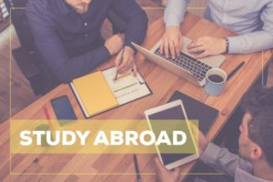 studying abroad concept